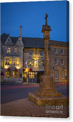 Stow On The Wold - Cotswolds Canvas Print by Brian Jannsen