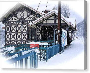 Strafford Station Canvas Print by Ira Shander
