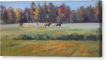 Stragglers Canvas Print