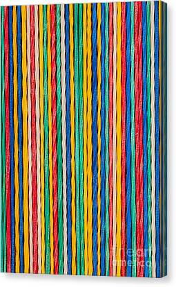 Straight Canvas Print by Shawn Hempel
