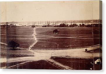 Strand And Eden Gardens Canvas Print by British Library