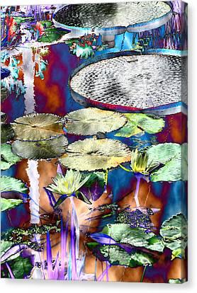 Strange Daze Canvas Print by Bobbie Barth