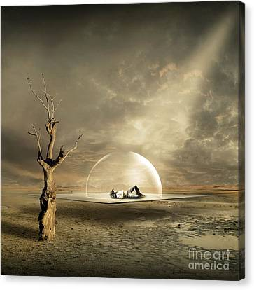 strange Dreams Canvas Print