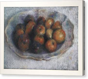 Strange Fruits Canvas Print
