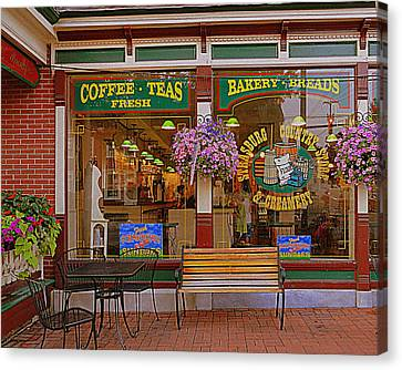 Strasburg Country Store Canvas Print by Mary Beth Landis