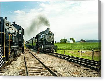Strasburg Express Canvas Print by Paul W Faust -  Impressions of Light