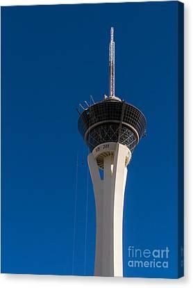 Stratosphere Las Vegas Canvas Print by Edward Fielding