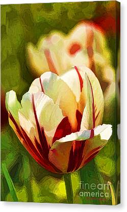 Strawberries And Cream Canvas Print