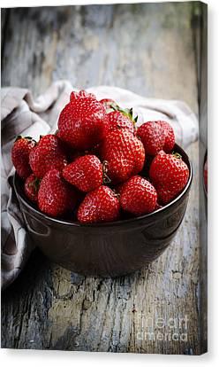 Strawberries Canvas Print by Jelena Jovanovic