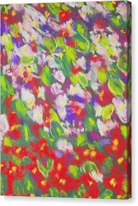 Strawberry Begonias II Canvas Print