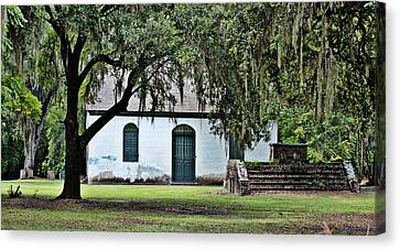 Canvas Print featuring the photograph Strawberry Chapel by Linda Brown