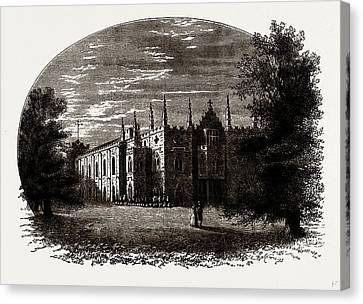 Strawberry Hill In Walpoles Time Canvas Print by Litz Collection