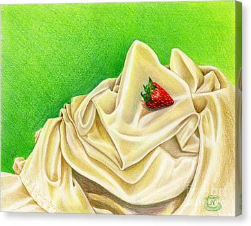 Strawberry Passion Canvas Print