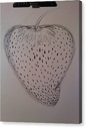 Strawberry Canvas Print by Thommy McCorkle