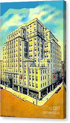 Strawbridge Department Store In Philadelphia Pa 1935 Canvas Print
