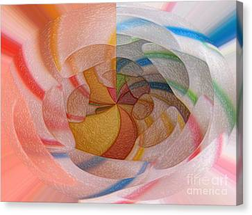 Straws Canvas Print by Pierre Dumas