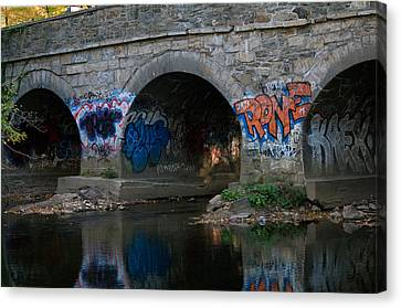 Canvas Print featuring the photograph Stream Art by Greg Graham
