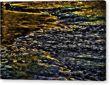 Streaming Sensation Canvas Print by Steven Richardson