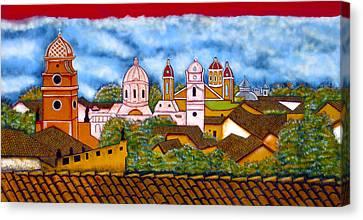 Street Art Granada Nicaragua 3 Canvas Print