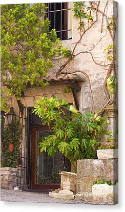 Street Entrance Canvas Print by Bob Phillips