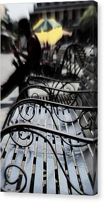 Street Jazz In The Big Easy Canvas Print