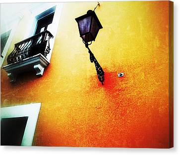 Street Lamp Canvas Print by Olivier Calas