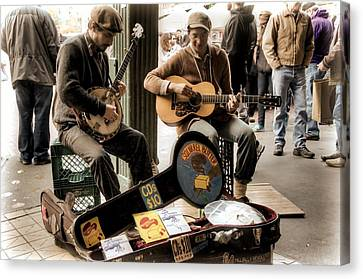 Street Music Canvas Print