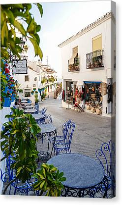 Street Of Mijas Canvas Print