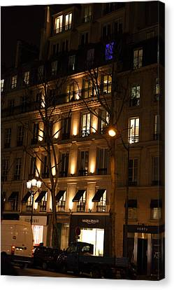 Street Scenes - Paris France - 011347 Canvas Print by DC Photographer