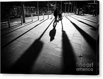 Street Shadow Canvas Print by Yew Kwang