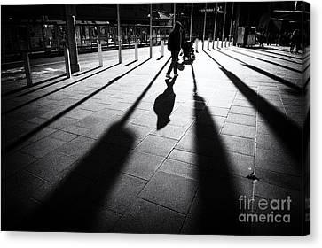 Street Shadow Canvas Print