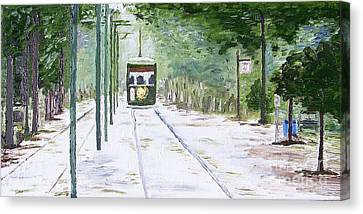 Streetcar Named Desire Canvas Print by Kevin Croitz