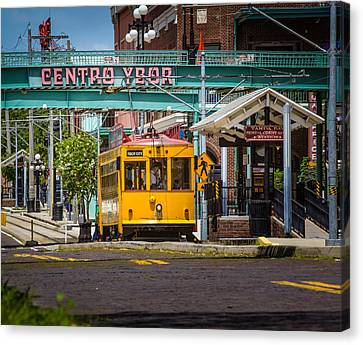 Streetcar Canvas Print by Ybor Photography