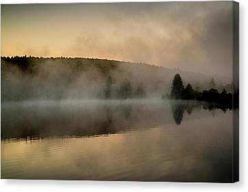 Clearing Canvas Print - Streeter Pond, New Hampshire (large by Howie Garber