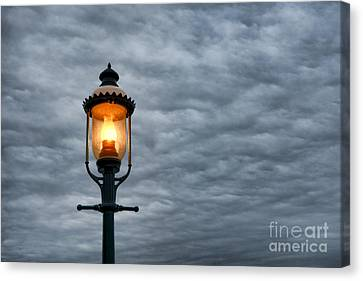 Streetlight Canvas Print - Streetlight by Olivier Le Queinec