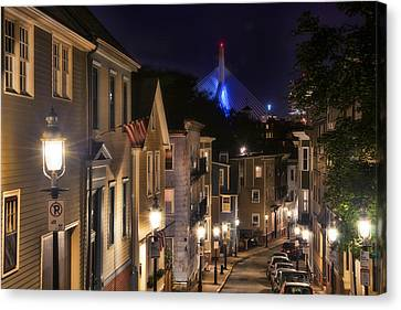 Streets Of Charlestown 2 Canvas Print by Joann Vitali