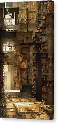 Streets Of Gold Canvas Print by David Hansen
