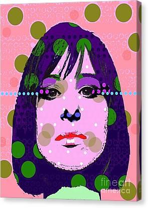 Streisand Canvas Print by Ricky Sencion