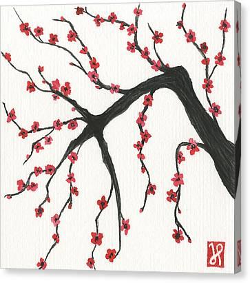 Strength Canvas Print by Jamie Seul