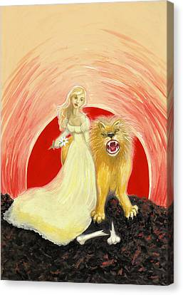 Strength Canvas Print by Lise Slinky