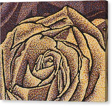 Strength Canvas Print by Rebecca Bangs