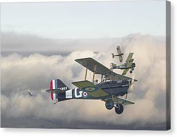 Ww1 Canvas Print - Strike by Pat Speirs