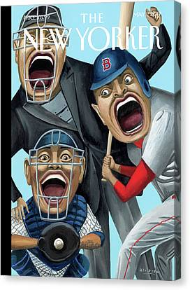 Strike Zone Canvas Print