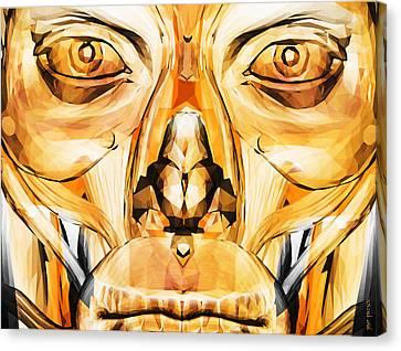 Modern Canvas Print - String Bass Q 24 by Sir Josef - Social Critic -  Maha Art