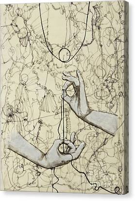 Canvas Print - String Theory - This Moment by Andrea Benson