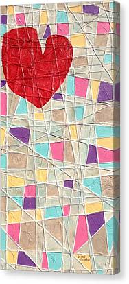 Strings To My Heart  Canvas Print
