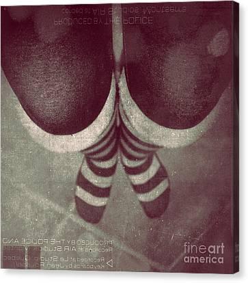 Striped World Canvas Print