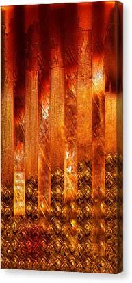 Stripes Forming Canvas Print by Li   van Saathoff