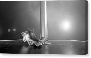 Strippers Recession Canvas Print
