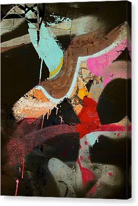 Stroke Of Dawn Canvas Print